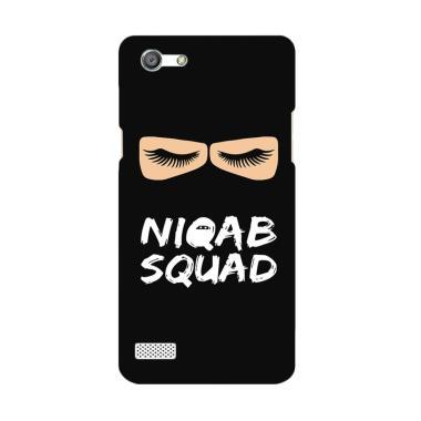 Premiumcaseid Hijab Jet Black Niqab ... Casing for Oppo Neo 7 A33