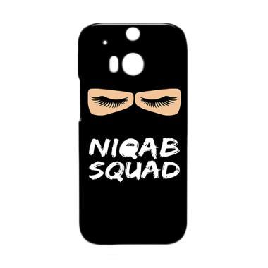Premiumcaseid Hijab Niqab Squad Har ... or HTC One M8 - Jet Black