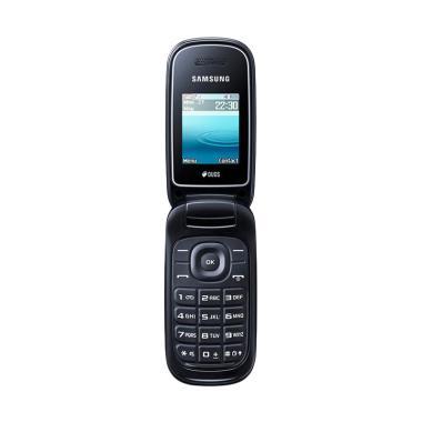 Samsung GT-E1272 Caramel Dual SIM Flip Handphone - Black