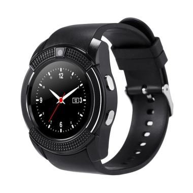 SOXY CC0406A The new V8 Intelligent Men's Camera Smartwatch - Black
