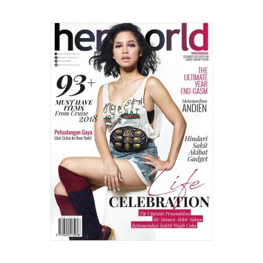 Her World Edisi Desember 2017 Majalah Fashion dan Trends