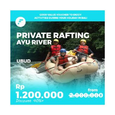FitAccess Bali Ubud Rafting Private E-Voucher