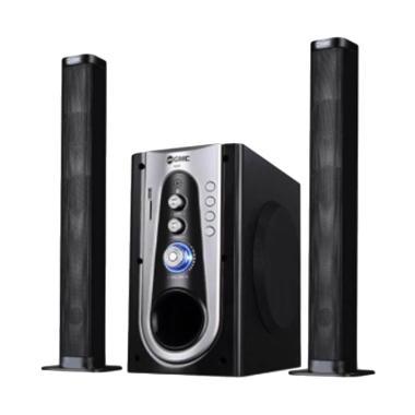GMC 886P Multimedia Bluetooth Speaker Aktif - Silver