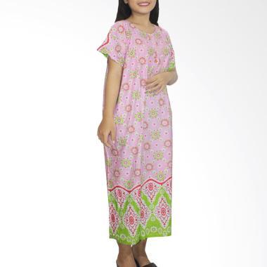 Batik Alhadi DPT001-70A Daster Kanc ...  Tidur Ibu Hamil Menyusui