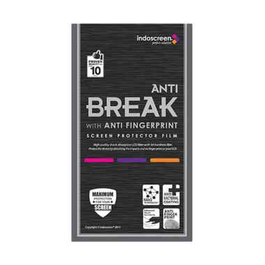 Indoscreen Anti Break Anti Gores Screen Protector for Oppo F1S