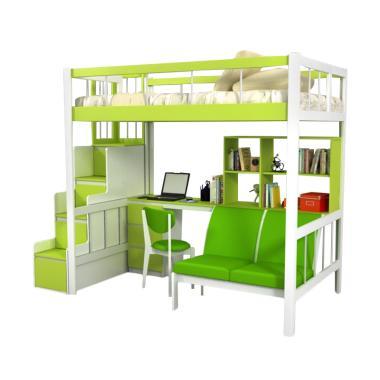 Funkids Porchia 01-100 TL Tempat Tidur Anak - Apple Green