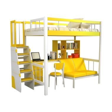Funkids Porchia 01-120 TS Tempat Tidur Anak - Lemon