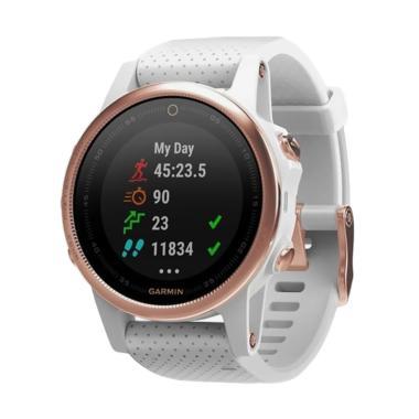 Garmin Fenix 5s Sapphire Smartwatch - Rose Gold