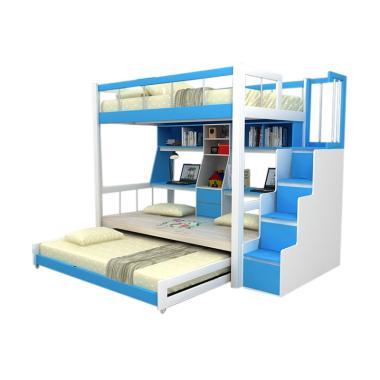 Funkids Nouva 01-120 TL WT-AB Tempat Tidur Anak - Blue