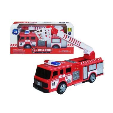 Yoyo 0960490006 Fire Truck Rescue B/O Mainan Anak