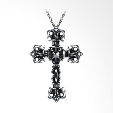 SOXY GMYN090 Cross Titanium Kalung