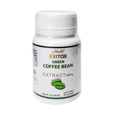 Green Coffee Bean Hendel Exitox Obat Pelangsing