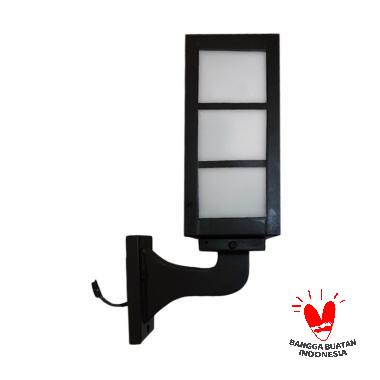 ATN LD 022 Lampu Tempel Dinding Taman Minimalis [Kotak Hitam]
