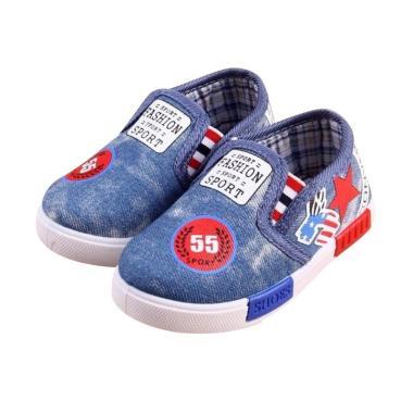 VERINA BABY Kanvas Jeans Sepatu Anak ...