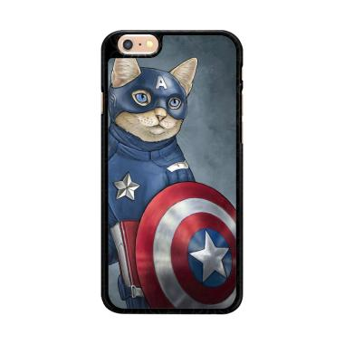 Flazzstore Captain America Cat Z099 ... for iPhone 6 or iPhone 6S