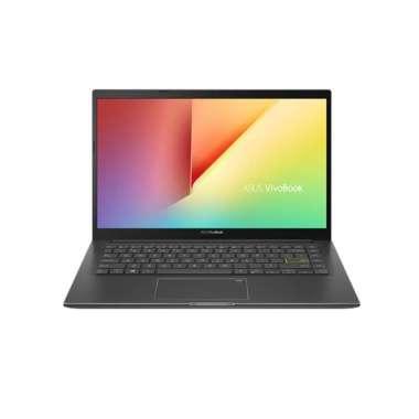 "harga Asus VivoBook Ultra K413EQ-EB752IPS,Ci7-1165G7/8GB/512GB/MX350 2GB/NoOdd/IndieBlack/W10+OHS/14"" FHD IPS, Backlit KB, FP BLACK Blibli.com"
