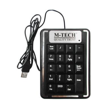 M-Tech New Keyboard USB Numeric - Hitam