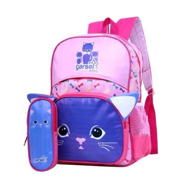 Garsel Backpack Tas Sekolah Anak Perempuan