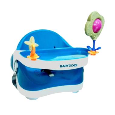 BabyDoes CH 7340 Booster Seat Kursi Makan Bayi - Blue