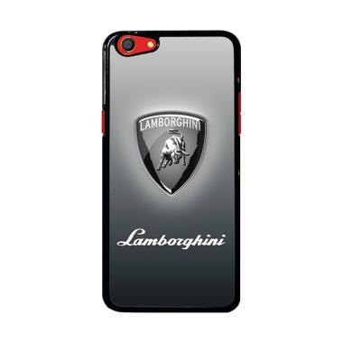 Flazzstore Lamborghini Logo Z4786 Custom Casing for Oppo F3