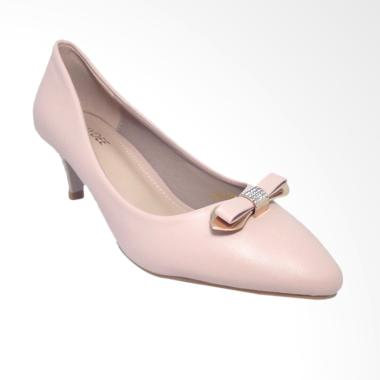 Kaydee 333-0714 Import Sepatu Pantofel Heels Wanita - Pink