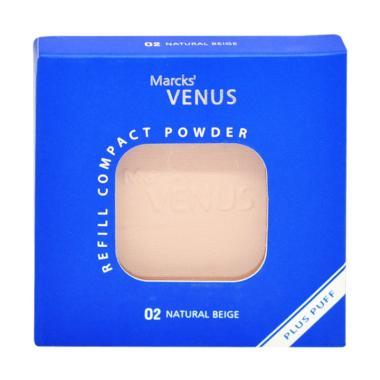 Marcks' Venus Refill Compact Powder - 02 Natural Beige [12 g]