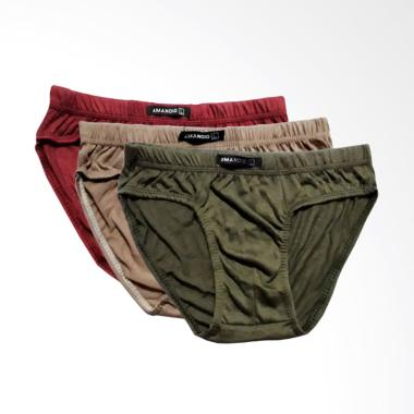 OEM Amandio Celana Dalam Pria [3 pcs]