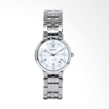 Seiko Automatic Jam Tangan Pria - Silver [SNH025]