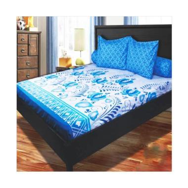 My Love Royal Blue Set Sprei - Blue [Tinggi 30cm]