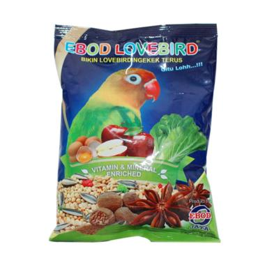 EBOD JAYA Makanan Burung Lovebird [Kemasan Plastik]
