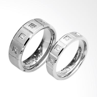 CDHJewelry CC098 Titanium Anti Kara ... ilver [Female 6 & Male 9]
