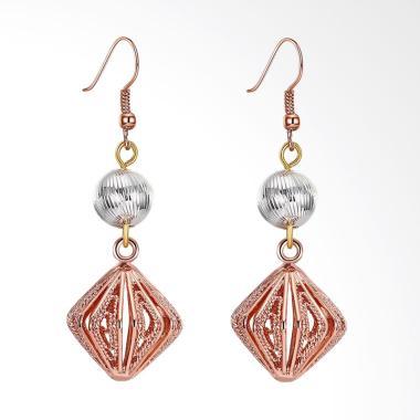 SOXY KZCE207-B K Gold Zircon Earrin ...  Romantic Ladies Earrings