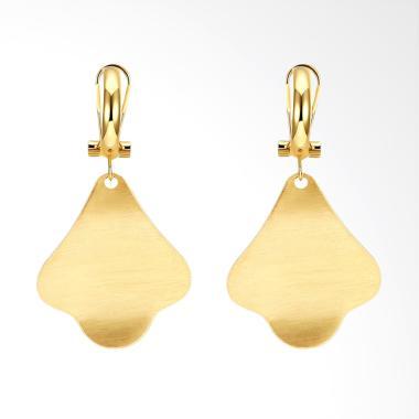 SOXY ZCE171-A Tree Romantic K Gold Zircon Ladies Earrings - Gold