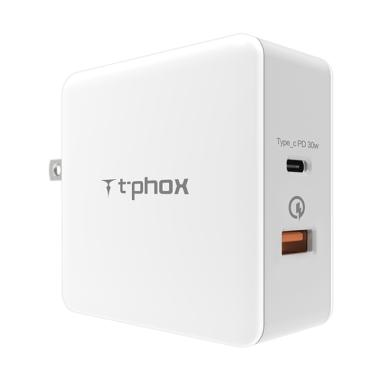 T-Phox Power Delivery PD Adapter Ch ... k Charge 3.0/ USB Type C]