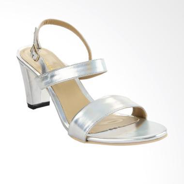 Marelli 0027 Sepatu High Heels Wanita - Silver