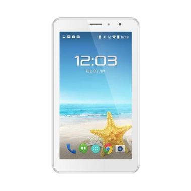 Advan Vandroid E1C Active Tablet - Putih [8 GB/ 1 GB/ Dual Speaker]