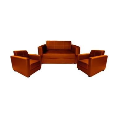 FCENTER Sofa 211 Dahlia COKLAT - PULAU JAWA*)
