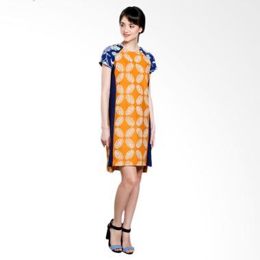 Suasana Hati By Denny Wirawan DRSH-03/949 Mini Dress - Biru Kuning