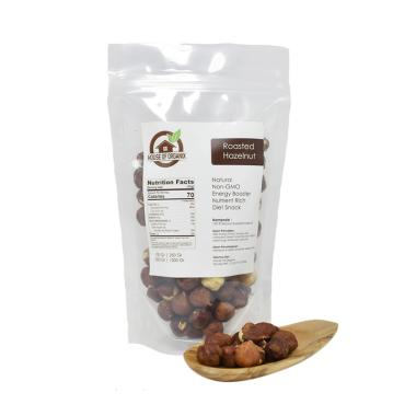 House of organix Roasted Hazelnut Makanan Organik [500 g]