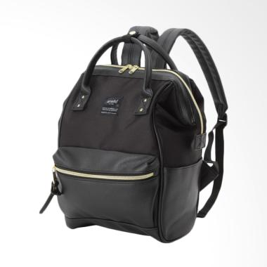 Anello X The Emporium Limited Editi ...  Leather Backpack - Black