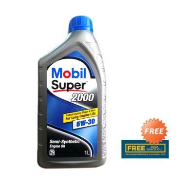 Mobil Super 2000 5W-30 Oli [1 Liter]
