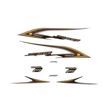 harga Idola Striping Aksesoris Body Motor for Beat Pop 2015 - Full Hitam Blibli.com