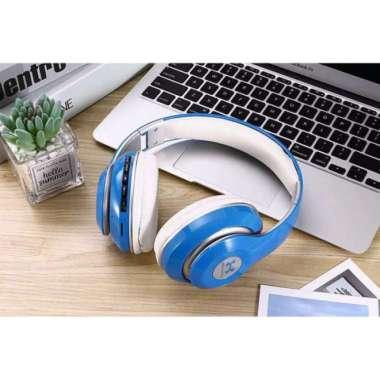 harga Terbaru Headphone H13  Headset Bluetooth OEM Stereo MP3  FM radio - BLUE Limited Blibli.com