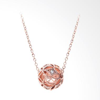 Cocoa Jewelry Ring My Bell Kalung - Rosegold
