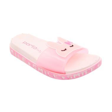 Porto JY-C981-6K Sandal Selop Anak Perempuan - Pink