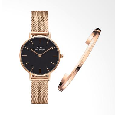 Daniel Wellington Classic Petite Melrose Female Watches with Cuff Gold Jam  Tangan Wanita - Gold  28 mm  547b75e7f7
