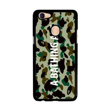 Flazzstore A Bathing Ape Teks On Te ... Custom Casing for Oppo F5
