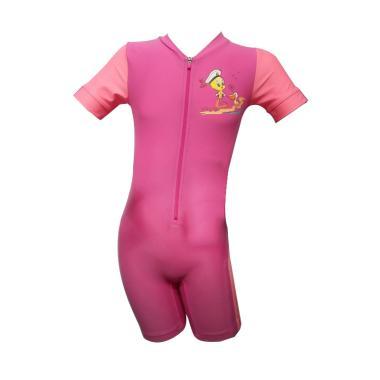 OPELON 07.4026.000.16.PK Terusan Baju Renang Anak Perempuan - Pink