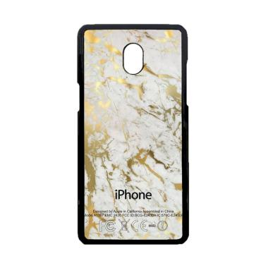 Acc Hp Gold Marble On White Apple Z ... amsung Galaxy J7 Pro 2017