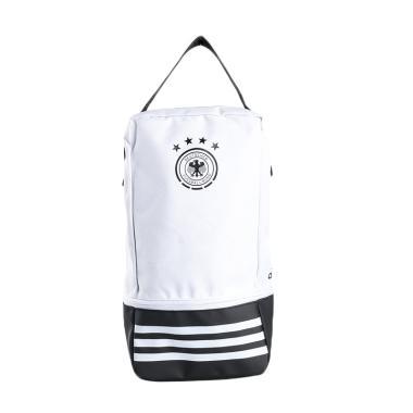 adidas Football DFB Performance Shoe Bag - White Black [CF4937]